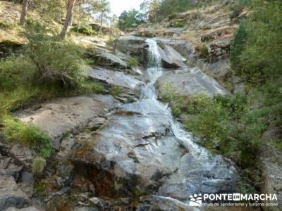 El Pico del Nevero y la Cascada del Chorro, asociacion singles madrid; rutas de las caras